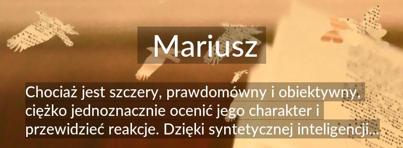 Mariusz Znaczenie Imienia Mariusz Poznaj Co Kryje Się Pod Tym